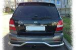 Задняя светодиодная оптика (задние фонари) для Kia Sorento 2002-2005 (JUNYAN, CD058)