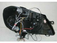 Передняя оптика для Volkswagen Polo (9N) 2005-2009 (JUNYAN, HU215E-02-1-E-01)
