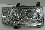 Передняя оптика для Volkswagen Transporter/T4 1991-2003 (JUNYAN, HU260E-00-1-E-00)