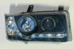 Передняя оптика для Volkswagen Transporter/T4 1991-2003 (JUNYAN, HU260E-00-1-E-01)