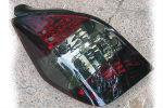 Задняя светодиодная оптика (задние фонари) для Citroen C2 2003-2008 (JUNYAN, HU322-00-2-E-02)