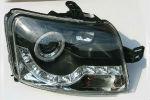 Передняя оптика для Fiat Panda 2003-2011 (JUNYAN, HU351EM-00-1-E-01)