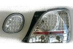 Задняя светодиодная оптика (задние фонари) для Lexus GS300 1998-2004 (JUNYAN, HU422LD-02-2-J-00)