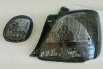 Задняя светодиодная оптика (задние фонари) для Lexus GS300 1998-2004 (JUNYAN, HU422LD-02-2-J-01)