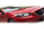 Передняя оптика для Mazda 6 Atenza 2013+ (JUNYAN, MZ005-U6WL1-BL1)