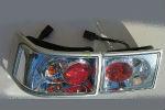 Задняя светодиодная оптика (задние фонари) для ВАЗ 2110 1995+ (JUNYAN, pro-2110-chrome)