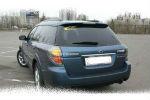 Задняя светодиодная оптика (задние фонари) для Subaru Outback 2005-2009 (JUNYAN, SB1101-CiW)