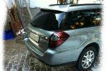 Задняя светодиодная оптика (задние фонари) для Subaru Outback 2005-2009 (JUNYAN, SB1101-RiW-C)