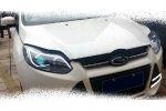 Передняя оптика (с ДХО) для Ford Focus 2012+ (JUNYAN, TFR001-V2T)