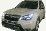 Передняя оптика (с ДХО) для Subaru Forester (SJ) 2013+ (JUNYAN, TSR001-V1T)