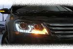 Передняя оптика (с ДХО) для Volkswagen Passat B7 2012+ (JUNYAN, TVK008V1)