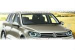 Передняя оптика (с ДХО) для Volkswagen Touareg (NF) 2011+ (JUNYAN, VK178-B6WH0-B2H)