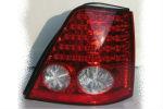 Задняя светодиодная оптика (задние фонари) для Kia Sorento 2002-2005 (JUNYAN, WH-KIA-SOR-TL-circle)