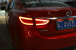 Задняя светодиодная оптика (задние фонари) для Mazda 6 2012+ (JUNYAN, XZ046)