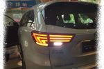 Задняя светодиодная оптика (задние фонари) для Toyota Highlander 2014+ (JUNYAN, XZ45R1)