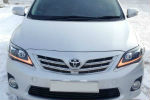 Передняя оптика для Toyota Corolla 2011-2014 (JUNYAN, YAA-KLL-0174B)