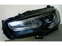 Передняя оптика для Mitsubishi Lancer X 2007+ (JUNYAN, YAA-YS-0162C)