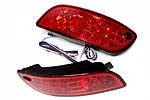 Катафоты со светодиодами для Hyundai Santa Fe (BGT-PRO, RRCAT-HYUSFE)
