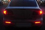 Катафоты со светодиодами (Dark) Mazda 3, 6, CX-7 (до 2010) (BGT-PRO, RRCATD-MAZ3-6-CX7)