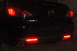 Катафоты со светодиодами (Red) Mazda 3, 6, CX-7 (до 2010) (BGT-PRO, RRCATR-MAZ3-6-CX7)