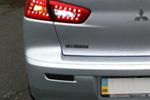Катафоты со светодиодами (дымчатые) для Mitsubishi Lancer X (BGT-PRO, RRCATS-MITS-LX)