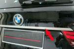 Хром накладка на багажник под логотип для BMW X5 (F15) 2014+ (Kindle, X5-D45)