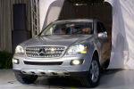 Накладка на передний для Mercedes ML-320 2006-2012 (Kindle, ML-B01)