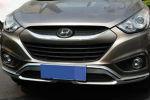 Накладки на передний и задний бампер для Hyundai IX35 2009-2013 (Kindle, HT-B93-94)