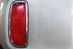 Хром накладки задних противотуманных фар для Kia Sorento 2013-2014 (Kindle, KSO-L34)