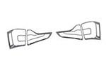 Хромированные накладки задних фар для Kia Sorento 2013-2014 (Kindle, KSO-L32)