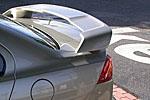 Задний спойлер на крышку багажника для Mitsubishi Lancer X (EGR, SPLR3933LR)