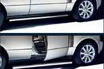 Боковые автоматические пороги OEM на Range Rover 2006- (Original)