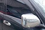 Накладки зеркал Toyota LC 100 хромированные