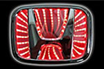 Светодиодный 3D логотип «Red» Honda Accord (PENG, LED.PNG.HONACC3DRD)