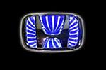 Светодиодный 3D логотип «Blue» Honda Civic (PENG, LED.PNG.HONCIV3DBL)