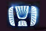 Светодиодный 3D логотип «White» Honda Civic (PENG, LED.PNG.HONCIV3DWH)