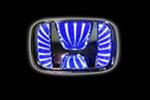 Светодиодный 3D логотип «Blue» Honda CRV (PENG, LED.PNG.HONCRV3DBL)