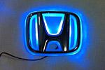 Светодиодный 3D логотип «Blue» Honda CRV (PENG, LED.PNG.HONCRVRPSBL)