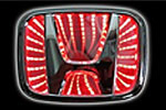 Светодиодный 3D логотип «Red» Honda Jazz (PENG, LED.PNG.HONJZ3DRD)