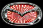 Светодиодный 3D логотип «Red» Mazda3 (PENG, LED.PNG.MZD3.3DRD)