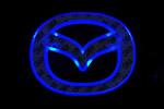 Светодиодный 3D логотип «Blue» Mazda3 (PENG, LED.PNG.MZD3RPSBL)