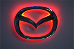 Светодиодный 3D логотип «Red» Mazda3 (PENG, LED.PNG.MZD3RPSRD)