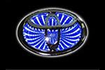 Светодиодный 3D логотип «Blue» Toyota Corolla (PENG, LED.PNG.TOYCRL3DBL)