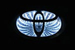 Светодиодный 3D логотип «White» Toyota Corolla (PENG, LED.PNG.TOYCRL3DWH)