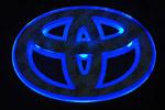 Светодиодный 3D логотип «Blue» Toyota Corolla (PENG, LED.PNG.TOYCRLRPSBL)