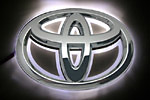 Светодиодный 3D логотип «White» Toyota Corolla (PENG, LED.PNG.TOYCRLRPSWH)
