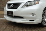 Юбка переднего бампера Lexus RX350/450h 2009- (LX-MODE)