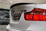 """Задний спойлер """"Сабля"""" BMW X6 08- (S-Line, BMWX6002)"""
