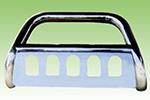 Дуга передняя (кенгурятник) для Lexus RX330 (Power Ful, LX-A022)