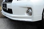Спойлер переднего бампера c DRL Lexus CT200h 2011- (LX-mode, LXAA-4LJ1-SS)